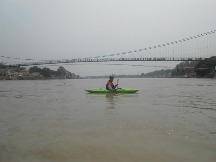 Kayaking in Rishikesh