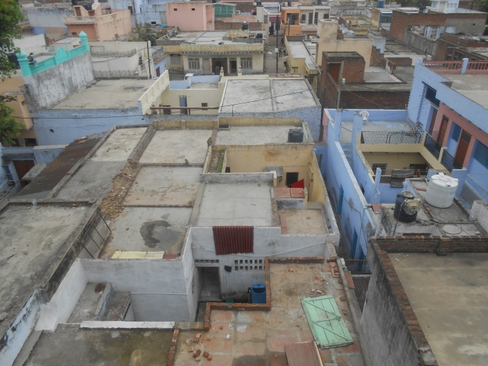 Taj Ganj Rooftops