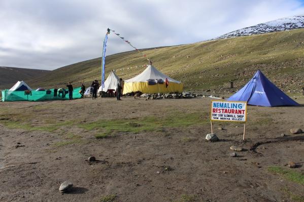 Nimaling Tent Camp